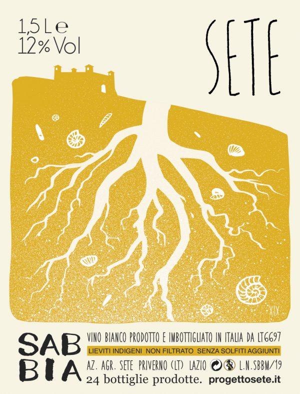 SETE Vini Naturali - Sabbia Magnum 2019