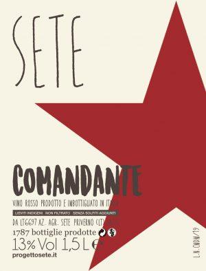 SETE Vini Naturali - Comandante Magnum 2019