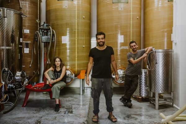 SETE Vini Naturali - Emiliano, Arcangelo e Martina